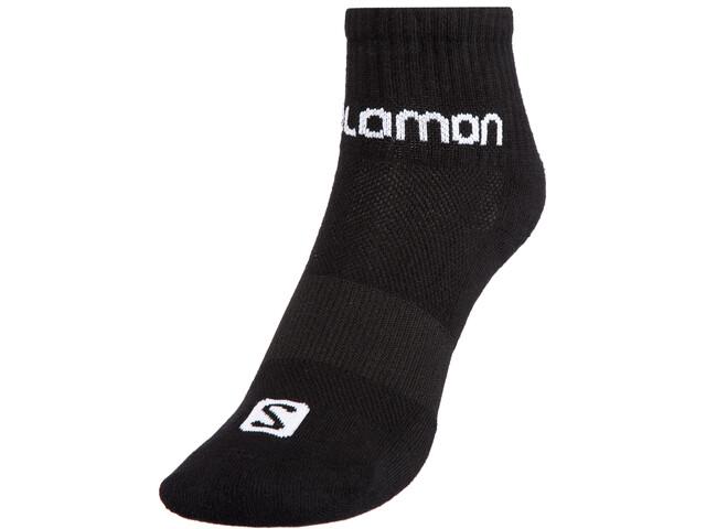 Salomon Evasion Sokken 2 Stuks, black/white